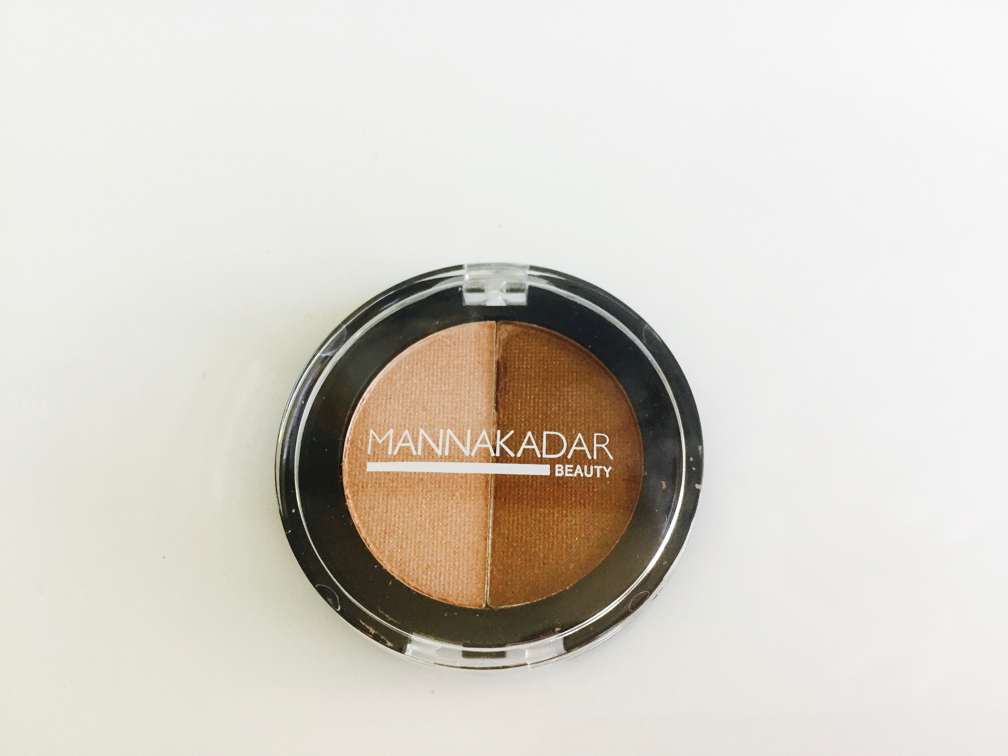 Manna Kadar Cosmetics Radiance Split Pan Bronzer and Highlighter Duo